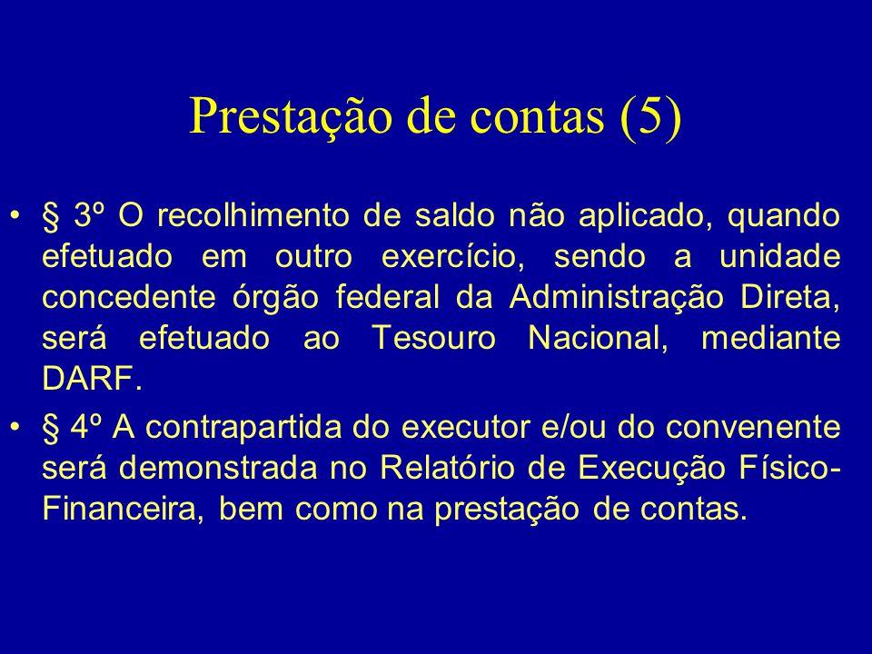 Prestação de contas (5)