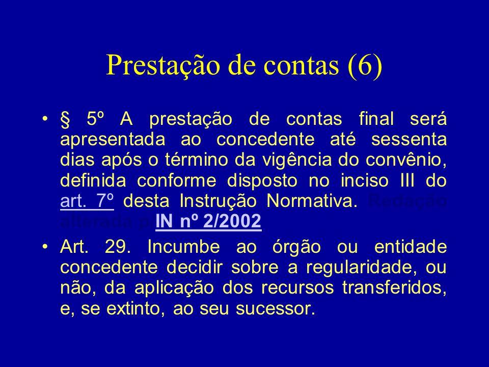 Prestação de contas (6)