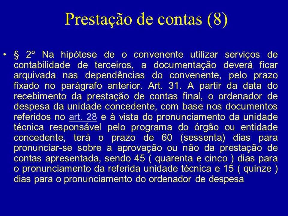 Prestação de contas (8)