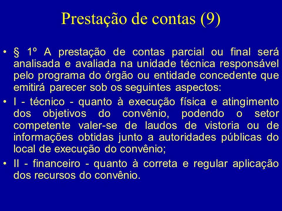 Prestação de contas (9)