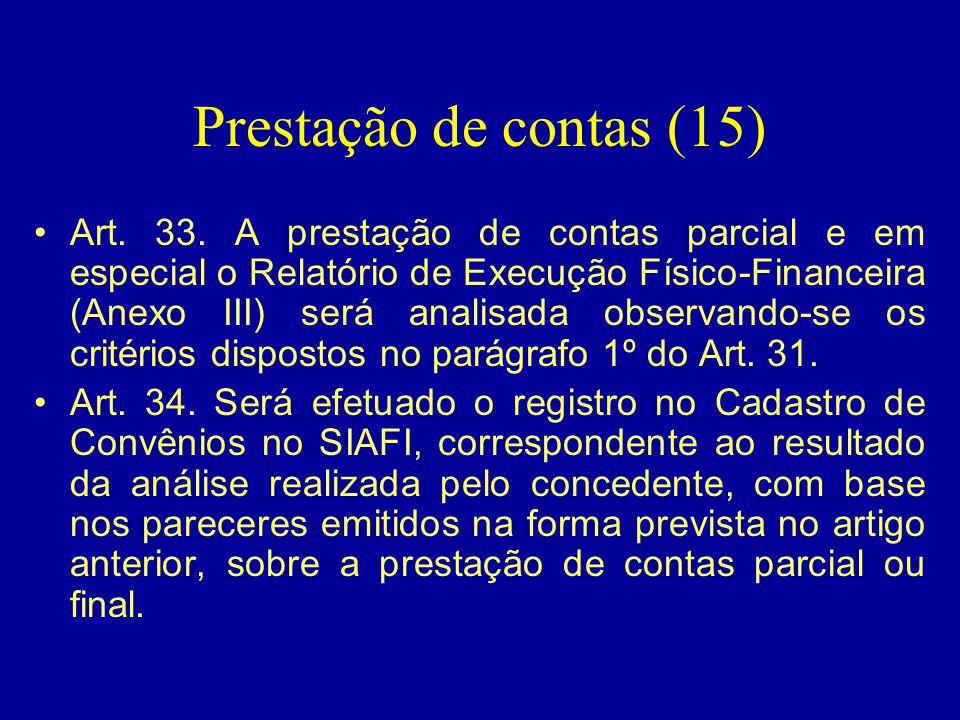 Prestação de contas (15)