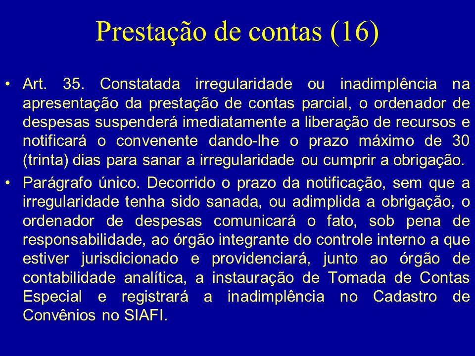 Prestação de contas (16)