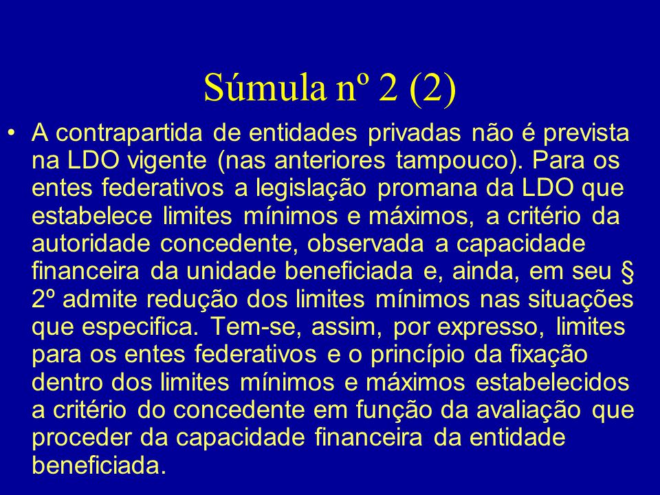 Súmula nº 2 (2)