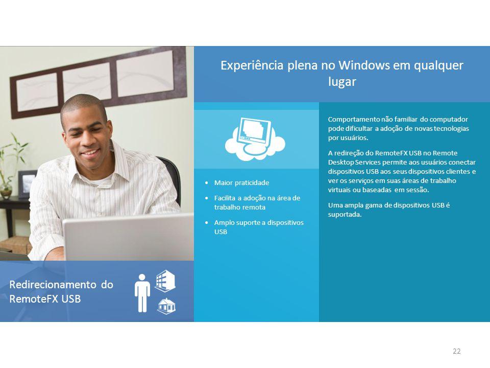 Experiência plena no Windows em qualquer lugar