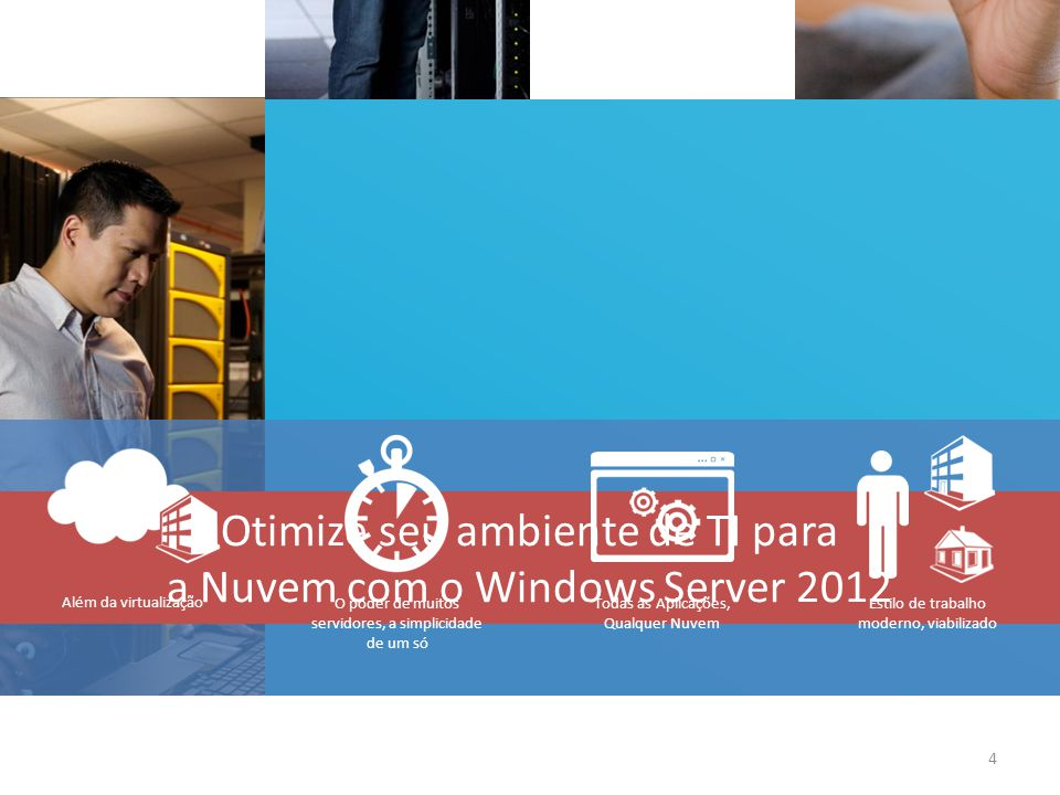 Otimize seu ambiente de TI para a Nuvem com o Windows Server 2012