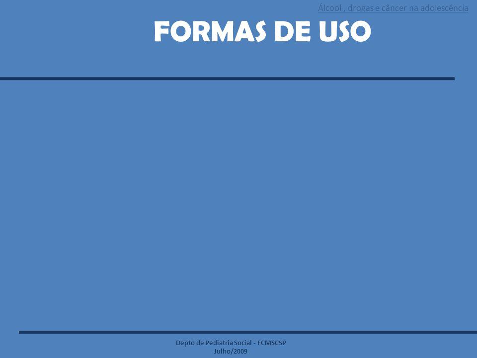 FORMAS DE USO