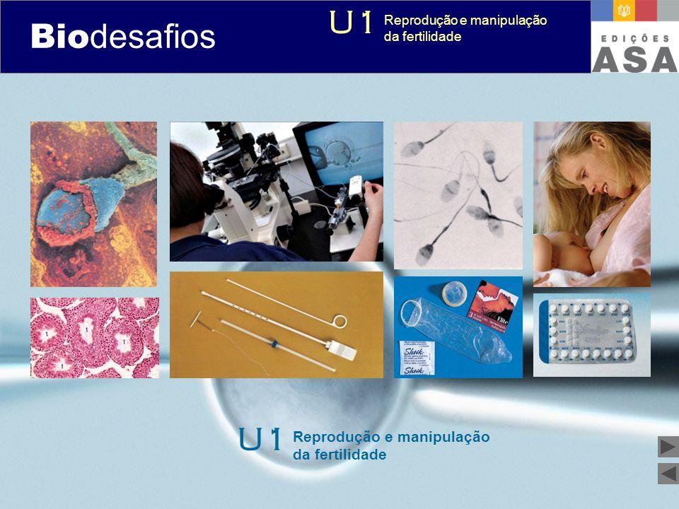 Biodesafios U1 U1 Reprodução e manipulação da fertilidade