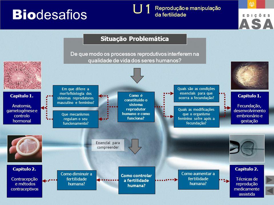 Biodesafios U1 Situação Problemática Reprodução e manipulação