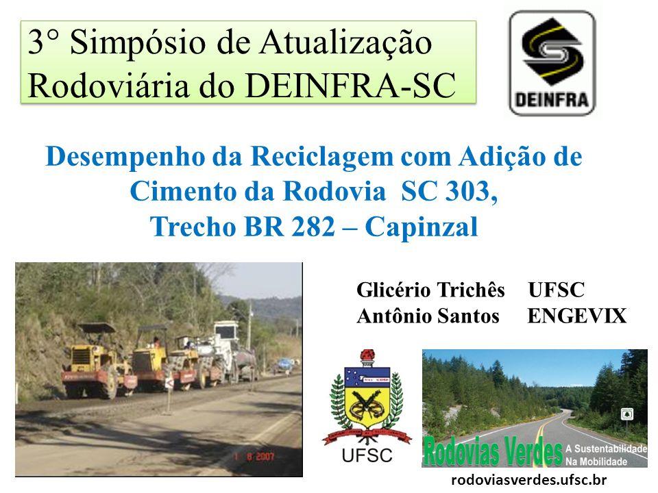 3° Simpósio de Atualização Rodoviária do DEINFRA-SC