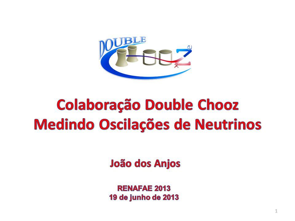 Colaboração Double Chooz Medindo Oscilações de Neutrinos