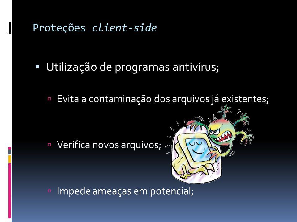 Proteções client-side