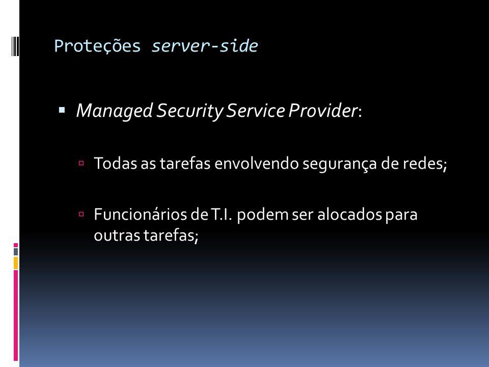 Proteções server-side
