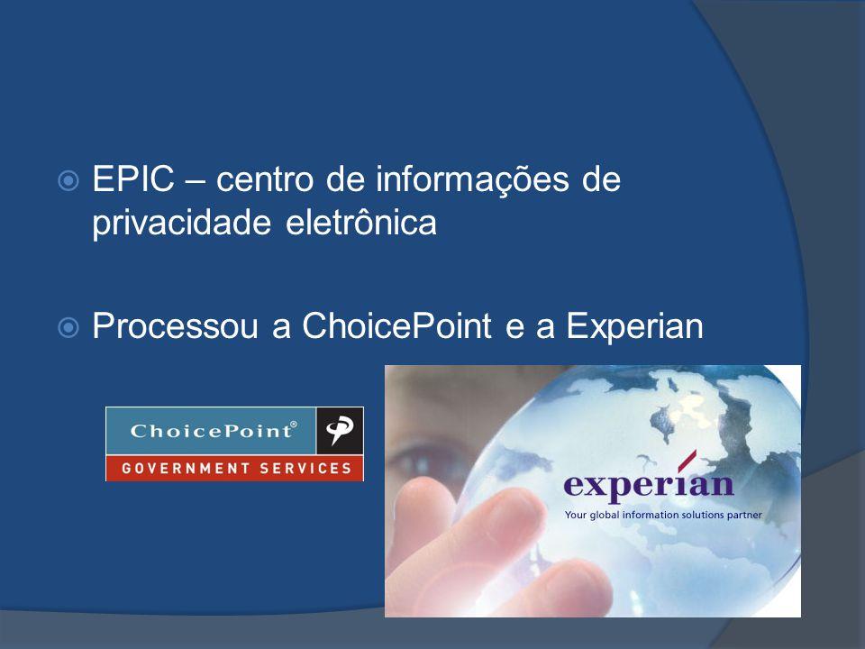 EPIC – centro de informações de privacidade eletrônica