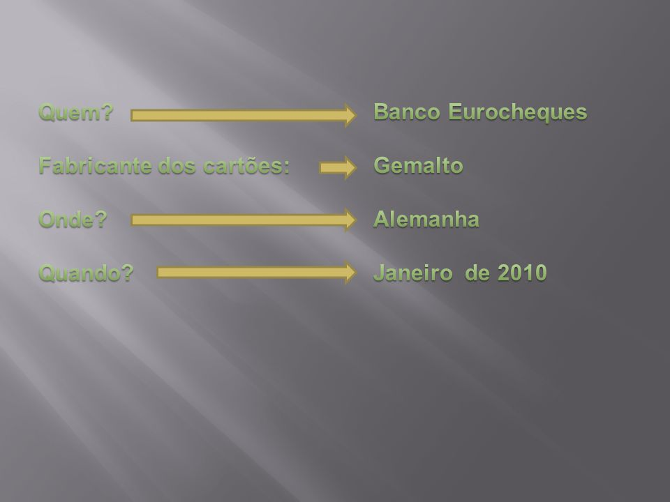 Quem Banco Eurocheques