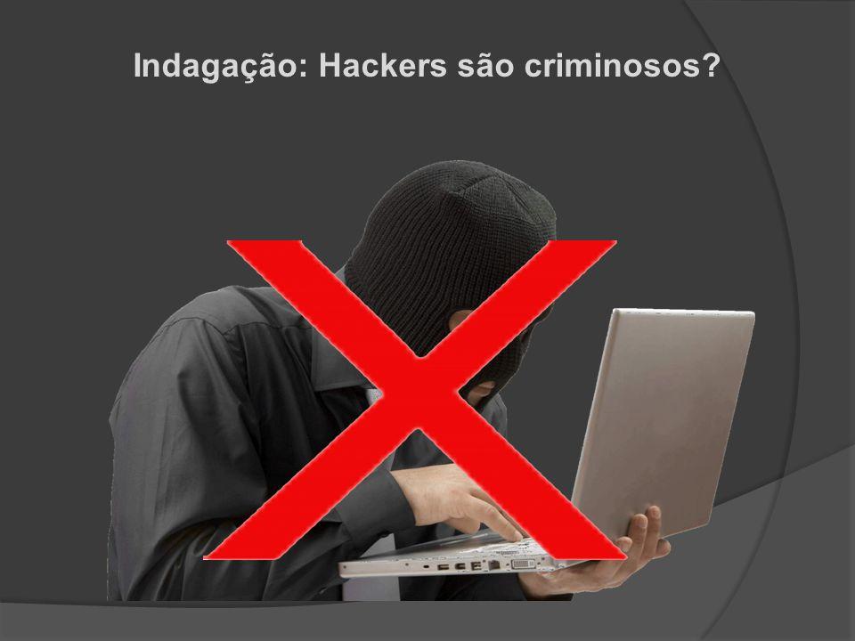 Indagação: Hackers são criminosos