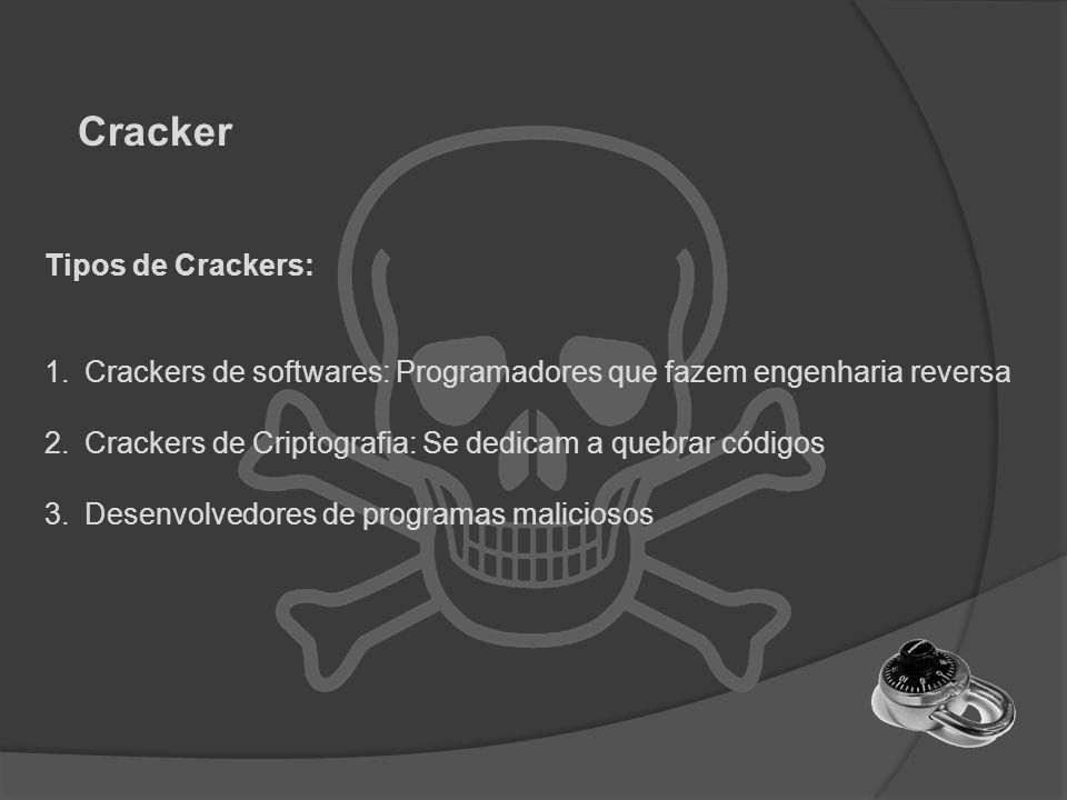 Cracker Tipos de Crackers: