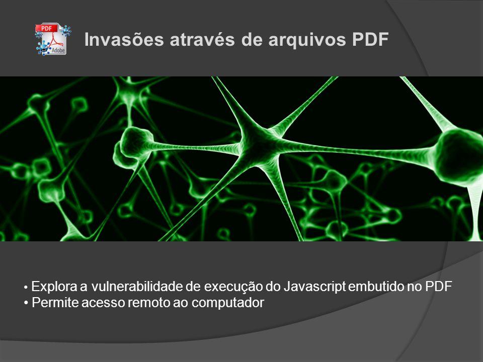 Invasões através de arquivos PDF