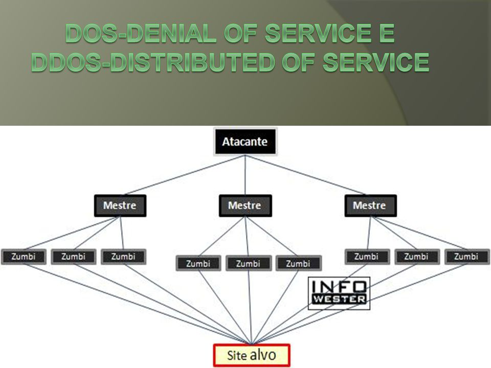 DoS-Denial of Service e DDoS-Distributed of Service