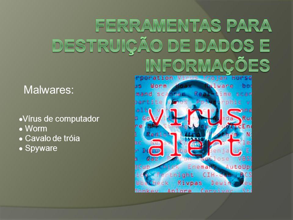 Ferramentas para destruição de dados e informações