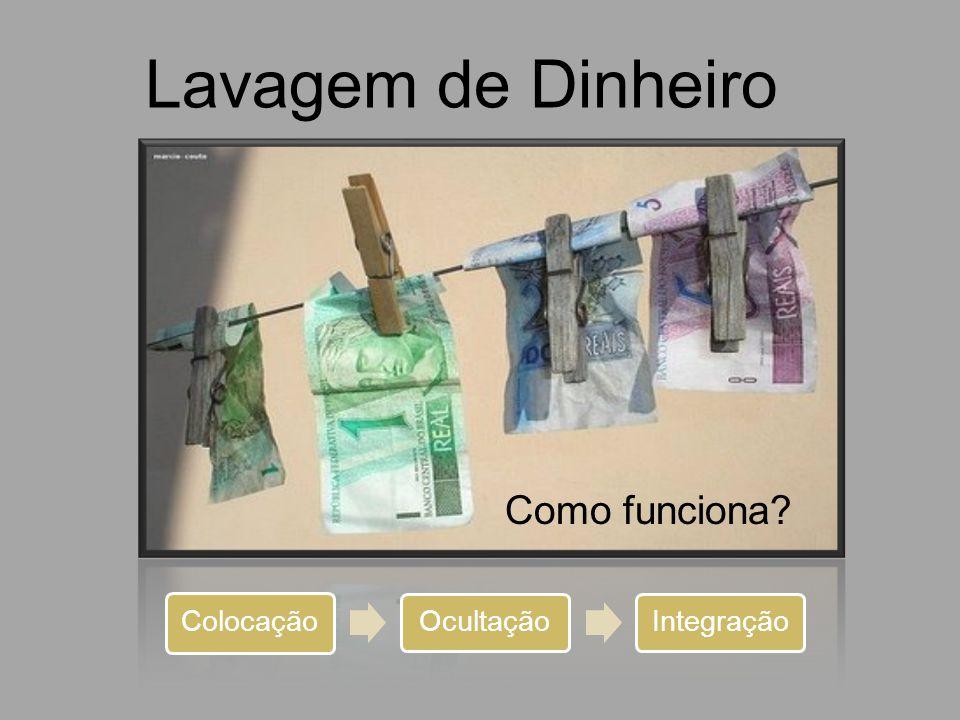 Lavagem de Dinheiro Como funciona