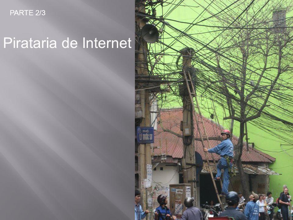 PARTE 2/3 Pirataria de Internet