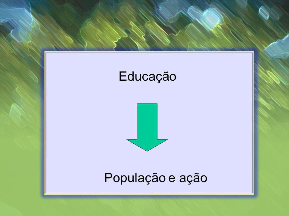 Educação População e ação