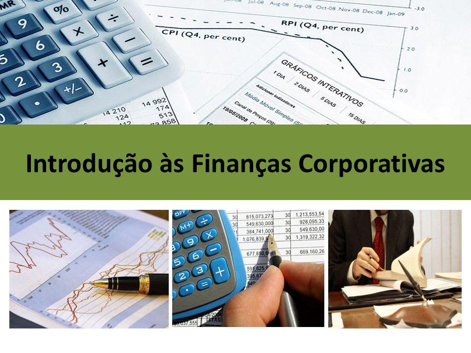 Introdução às Finanças Corporativas