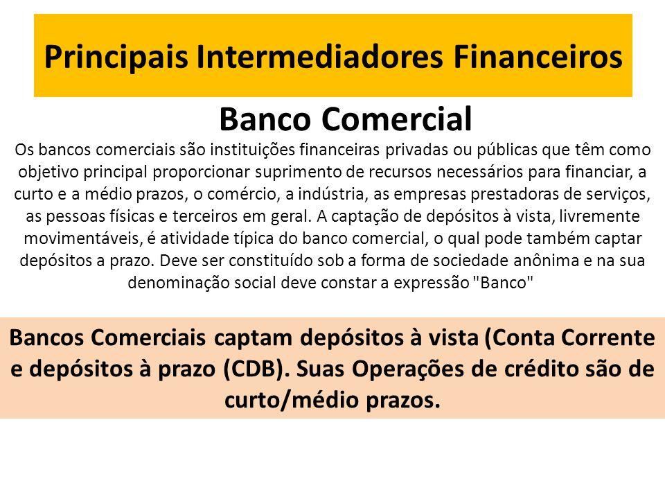 Principais Intermediadores Financeiros