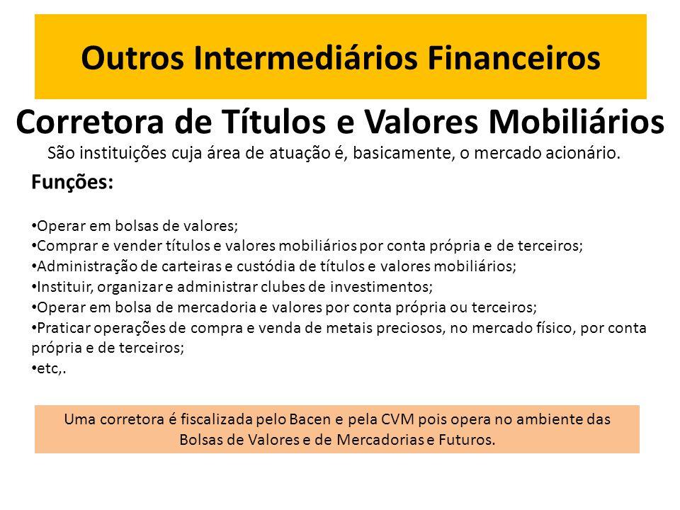 Outros Intermediários Financeiros