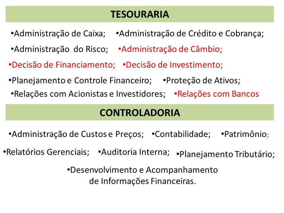 Desenvolvimento e Acompanhamento de Informações Financeiras.