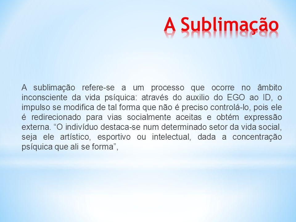 A Sublimação