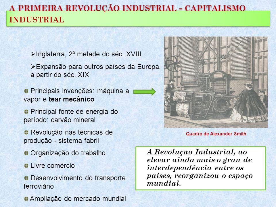 a primeira revolução industrial - capitalismo industrial