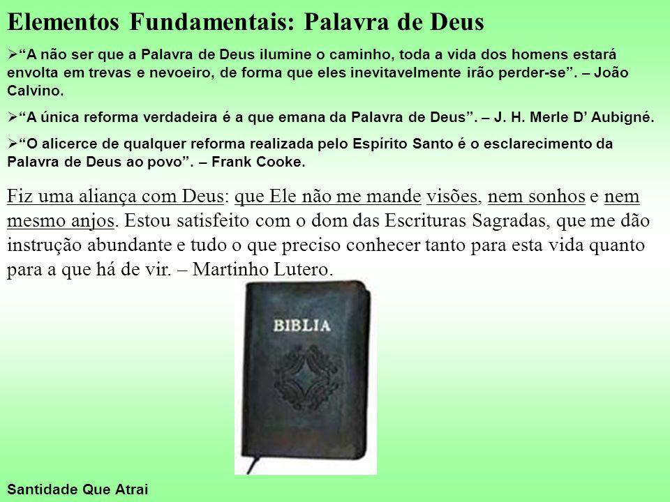 Elementos Fundamentais: Palavra de Deus