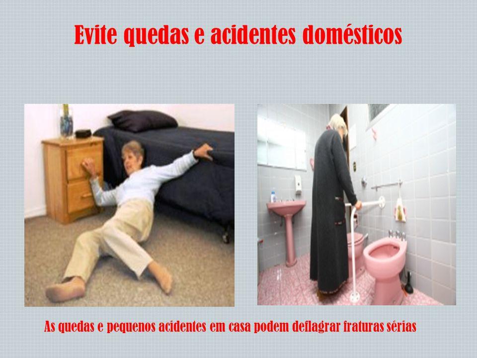 Evite quedas e acidentes domésticos