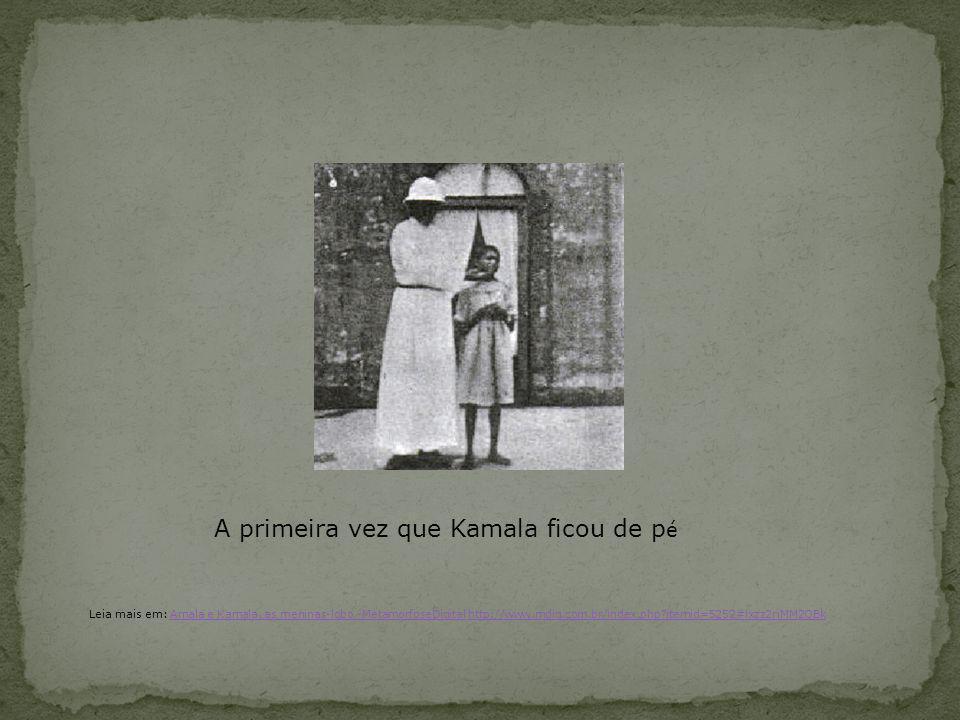 A primeira vez que Kamala ficou de pé