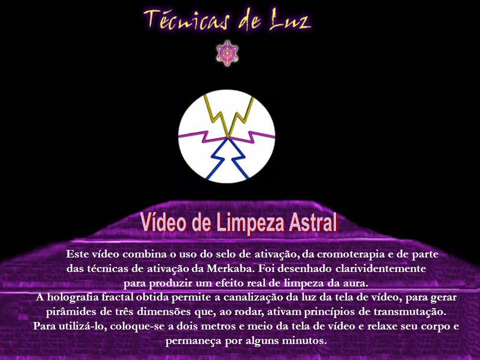 Vídeo de Limpeza Astral