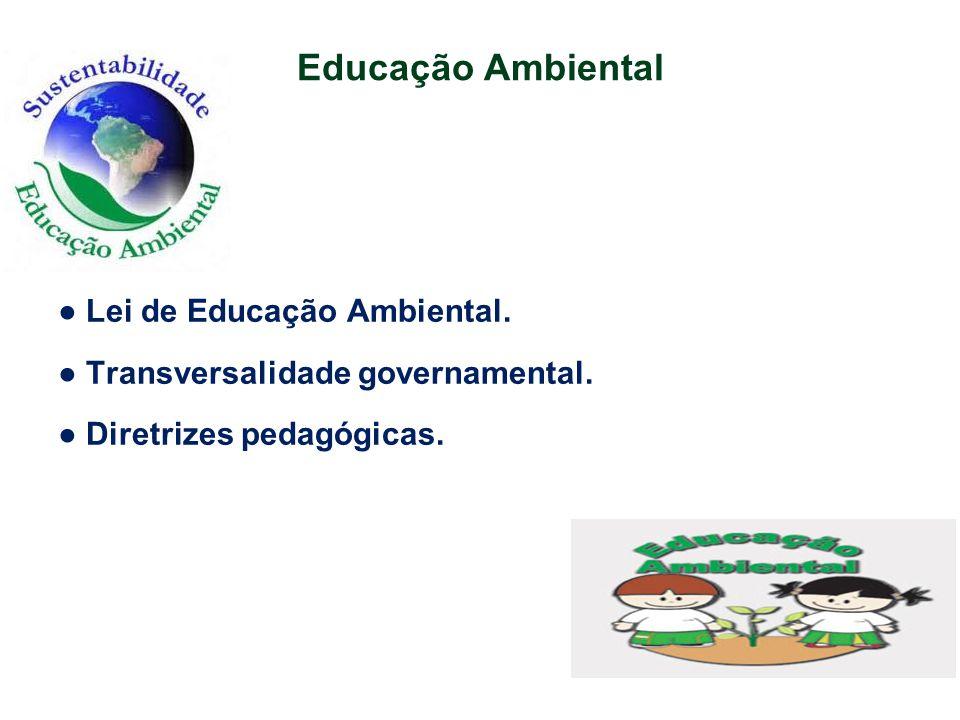 Educação Ambiental ● Lei de Educação Ambiental.