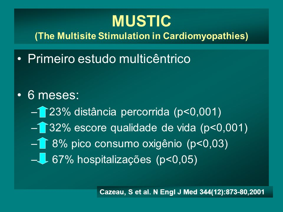 MUSTIC (The Multisite Stimulation in Cardiomyopathies)