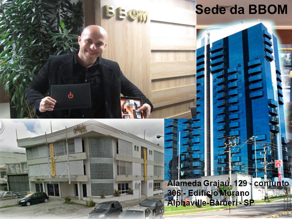 Sede da BBOM Alameda Grajaú, 129 - conjunto 306 - Edifício Murano
