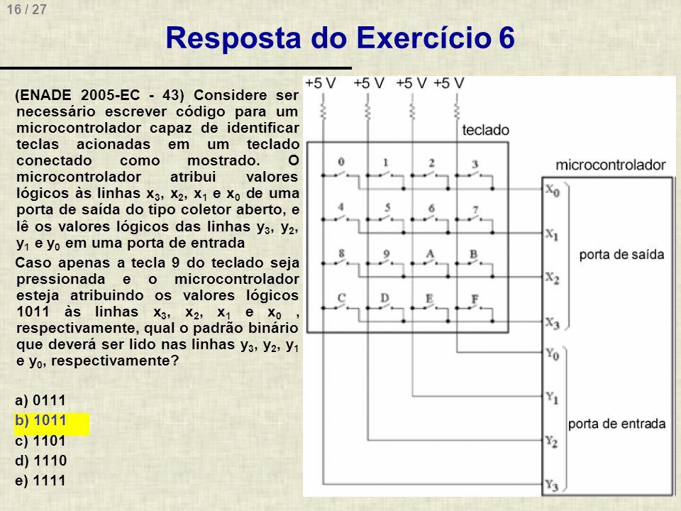 Resposta do Exercício 6