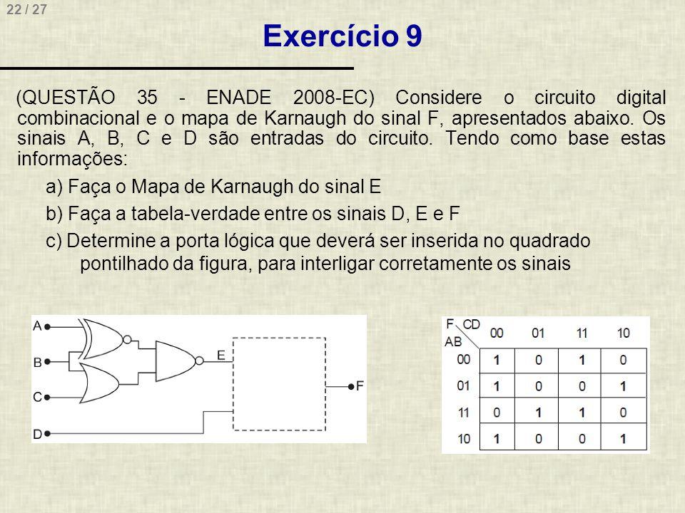 Exercício 9