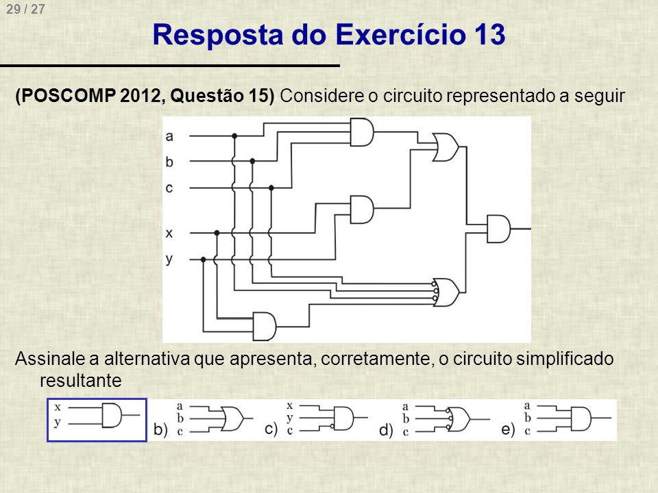 Resposta do Exercício 13