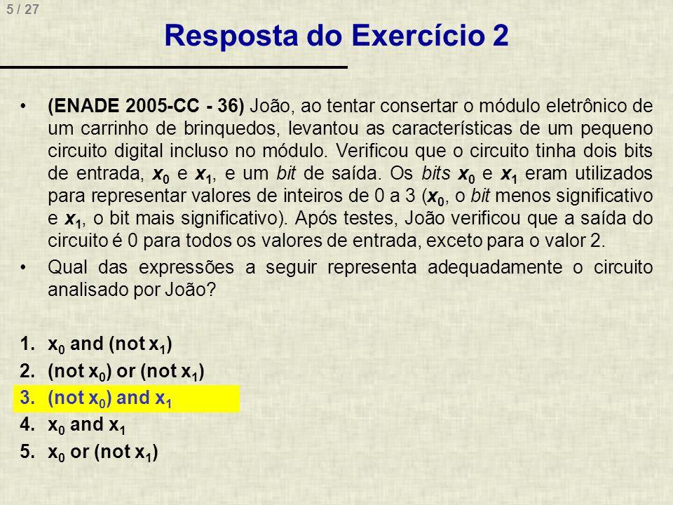 Resposta do Exercício 2