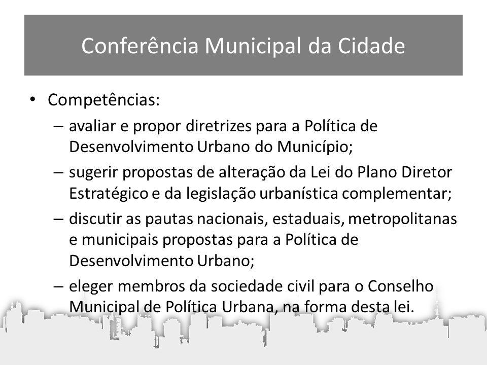 Conferência Municipal da Cidade