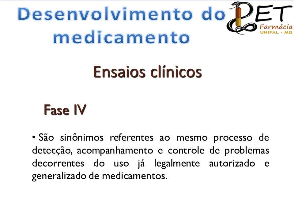 Ensaios clínicos Fase IV