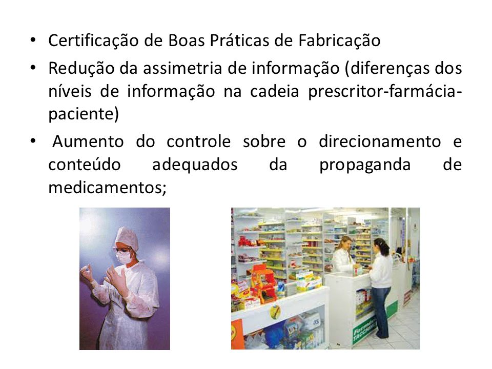 Certificação de Boas Práticas de Fabricação