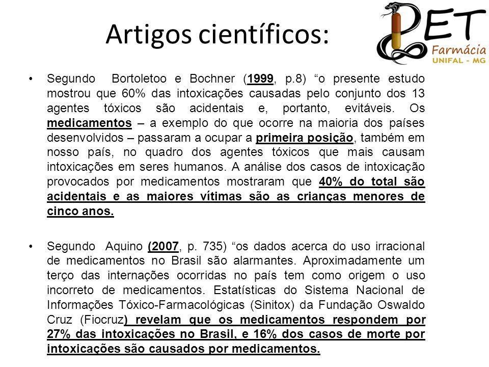Artigos científicos: