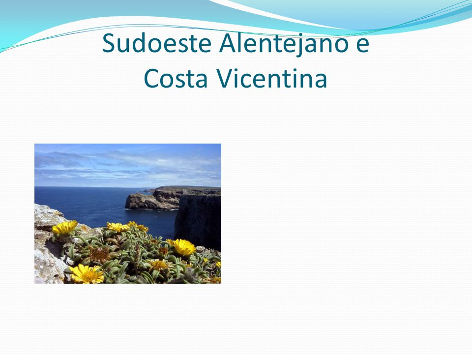 Sudoeste Alentejano e Costa Vicentina