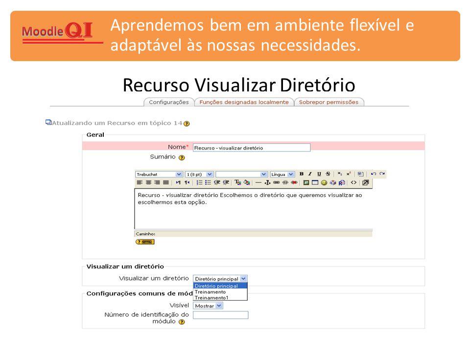 Recurso Visualizar Diretório