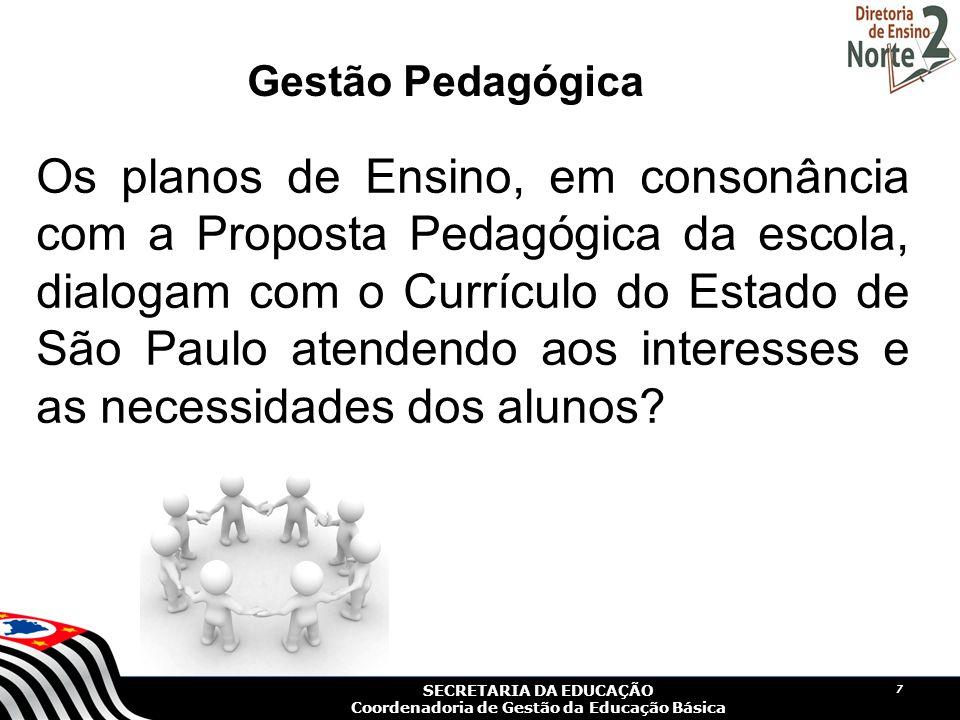 Gestão Pedagógica
